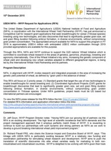 IWYP-NIFA-Call-Press-Release-December-2015-1