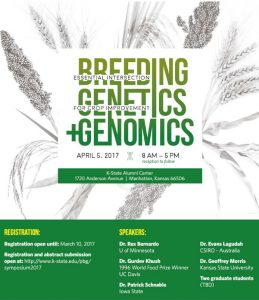 Breeding, Genetics & Genomics - Essential Intersection for Crop Improvement @ K-State Alumni Center