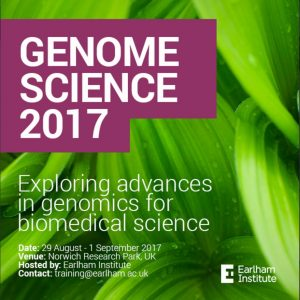 Genome Science 2017 @ Norwich Research Park
